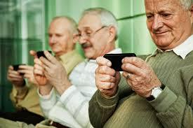 seniors nos celulares
