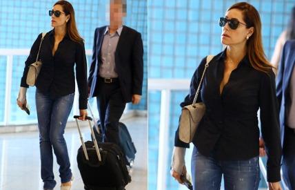 calça jeans Cristiane torlone