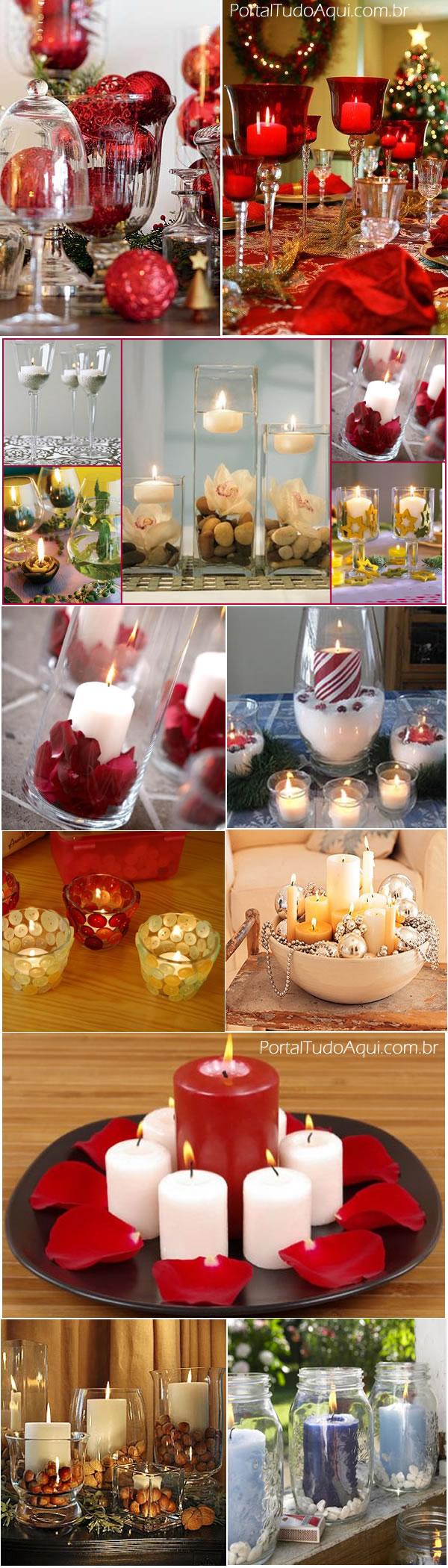 Natal-com-taças-vidros-velas