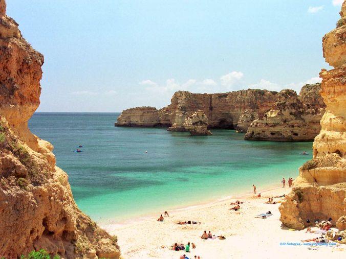 Portugal praia-algarve