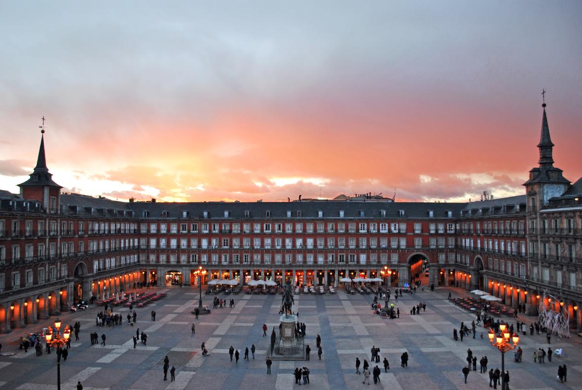 Espanha plaza-mayor