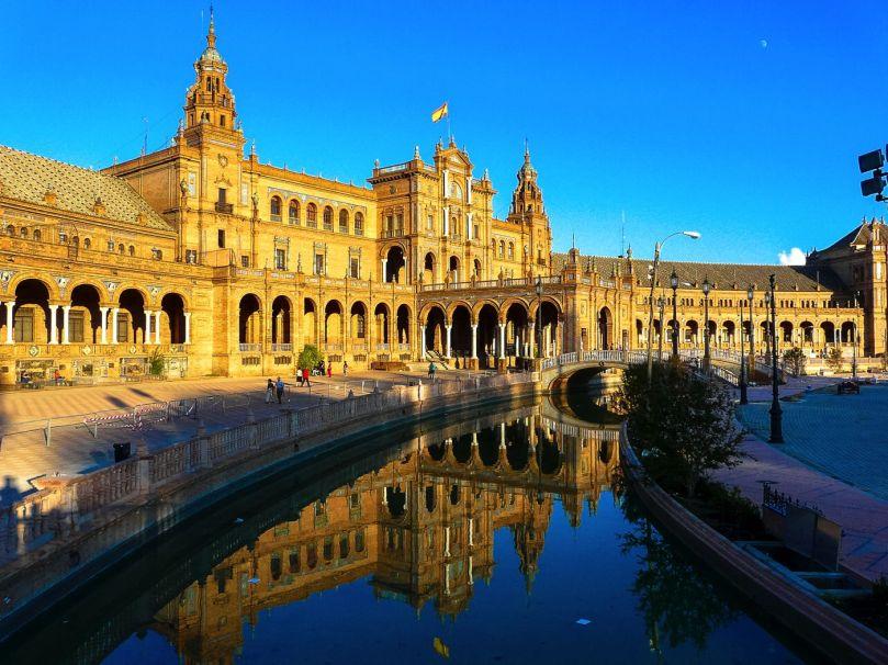 Espanha Seville_place_d_espagne-s